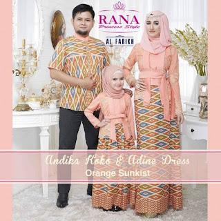 jual baju lebaran couple keluarga