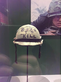 Mathew Modine's original helmet from Full Metal Jacket