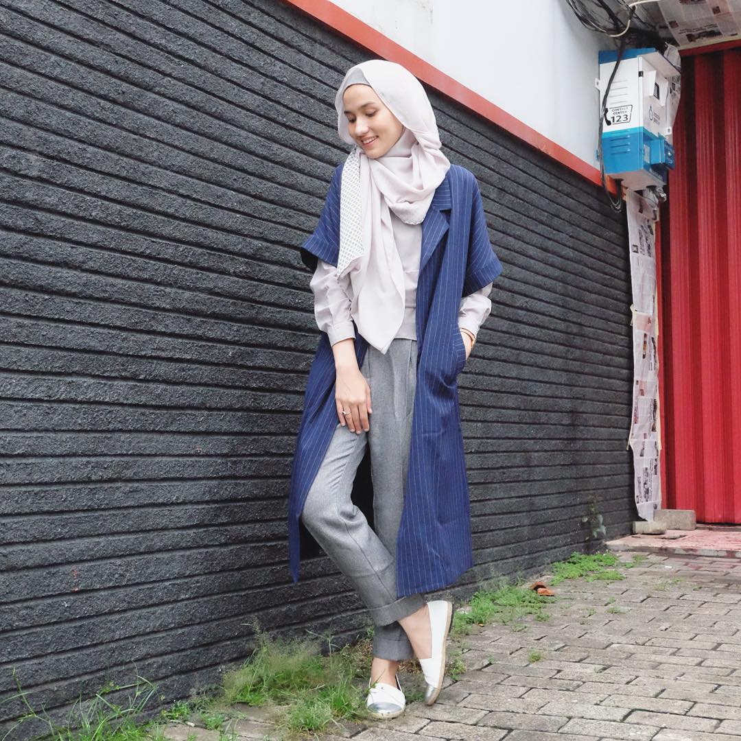 45 Model Hijab Terbaru 2018 Simple Modern Elegan