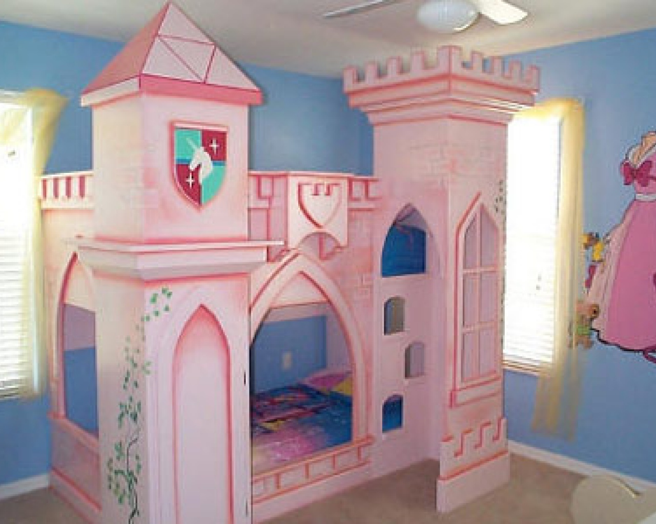 50 best princess theme bedroom design for girls