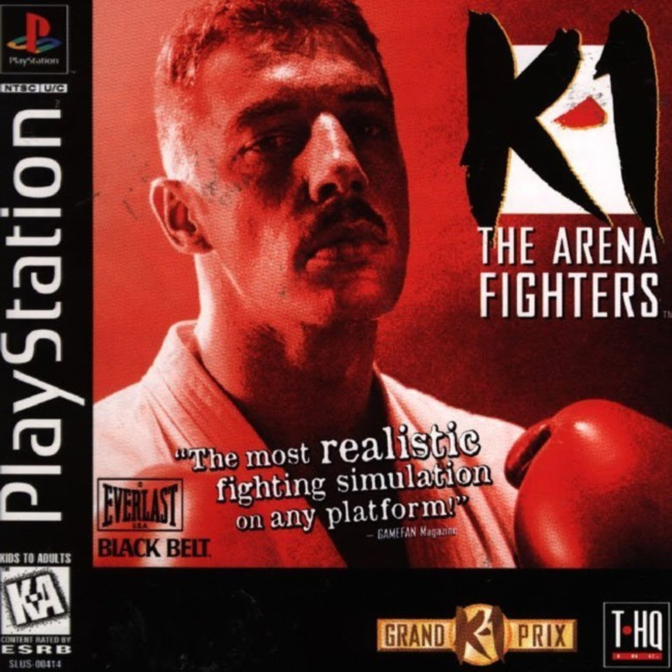 K-1 - The Arena Fighters - In the Red Corner  - PS1 - ISOs Download