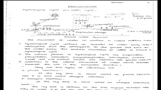 Hydrology and Water Resources Engineering  Hand Written Notes