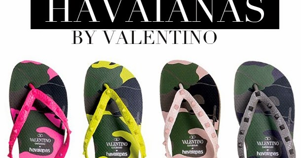 31e010b0e58c Want it Wednesday  Havaianas  Mara Hoffman and Valentino Luxe Flip Flops  Collection
