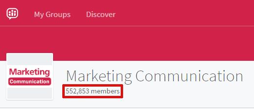 LinkedIn groups, messaging LinkedIn group members