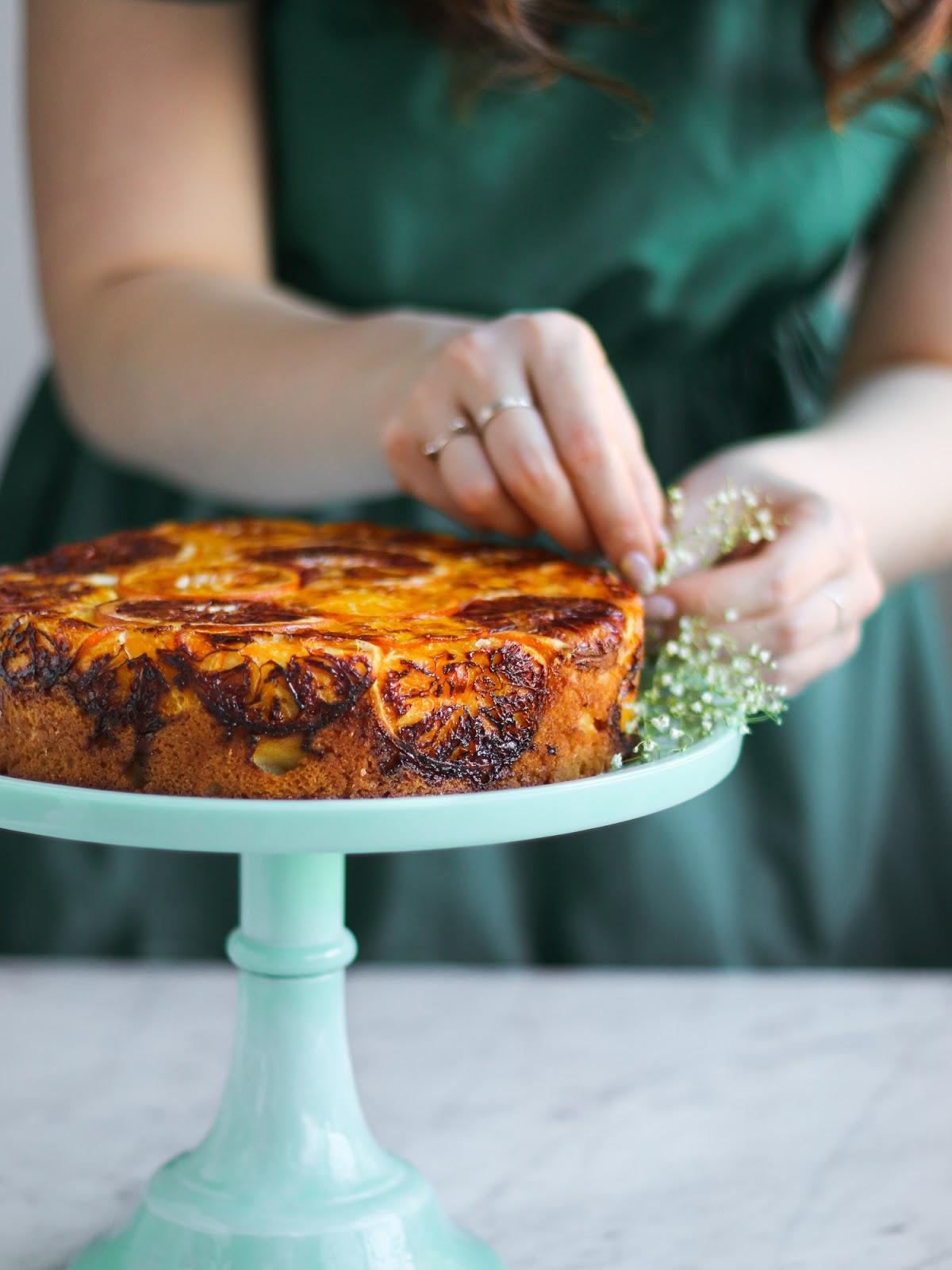 Mandarin Orange Upside Down Cake (Happy Chinese New Year ...