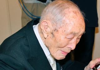 Orang Paling Tua Di Dunia - Sakari Momoi