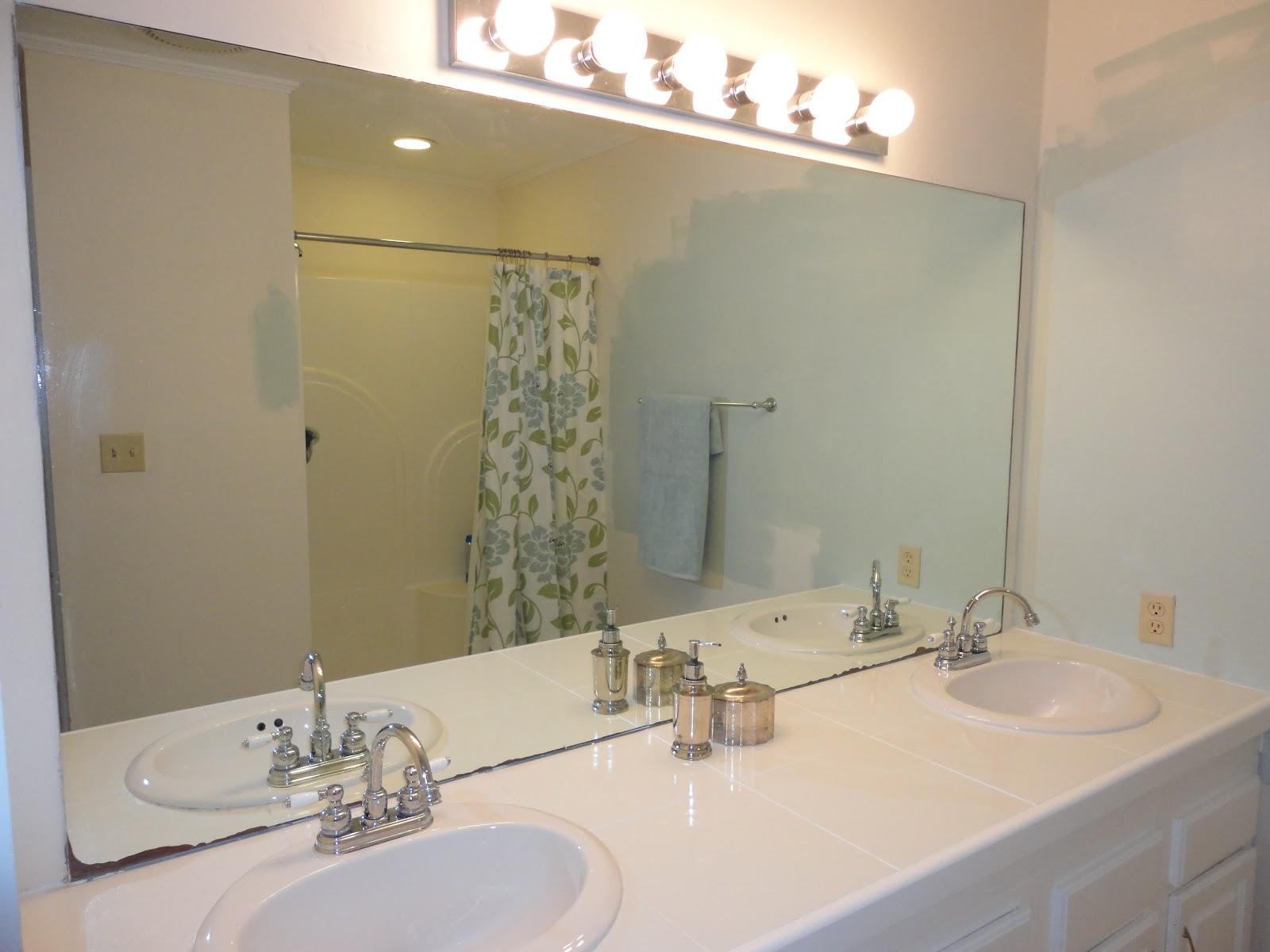 16 wonderful updating bathroom ideas lentine marine 31400 - How do you frame a bathroom mirror ...