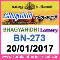http://www.keralalotteriesresults.in/2017/01/BN-273-live-bhagyanidhi-lottery-result-20-01-2017-kerala-lottery-results.html