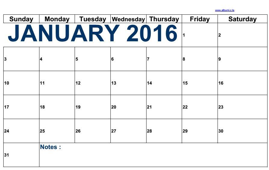 Free January 2014 Calendar To Print January Calendarcom 2018 Calendar Of The Month Free Kalendar January 2016 Blank To Print Calendars 2018