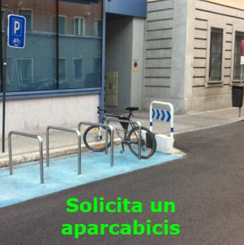 El Ayuntamiento va a colocar más de 100 aparcabicis en los próximos meses. Si quieres ayudarles a decidir dónde rellena el formulario