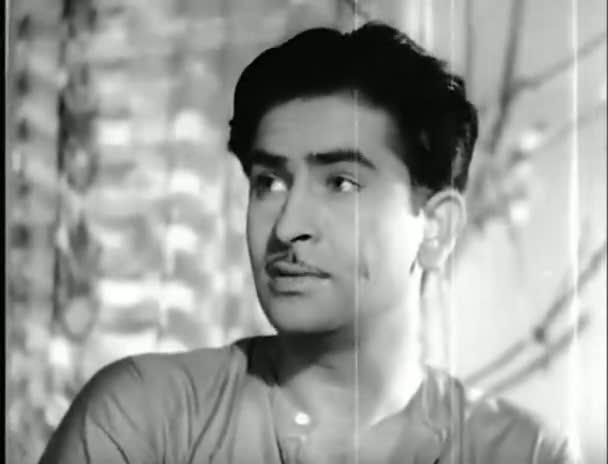 Screen Shot Of Hindi Movie Barsaat 1949 300MB Short Size Download And Watch Online Free at worldfree4u.com