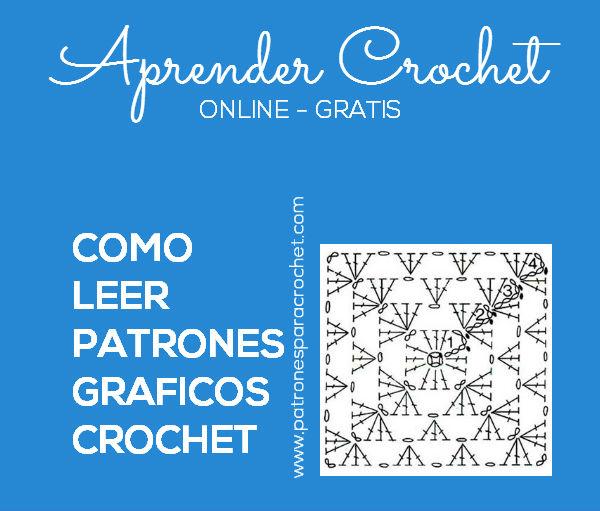 Cómo Leer Patrones de Crochet | Patrones para Crochet