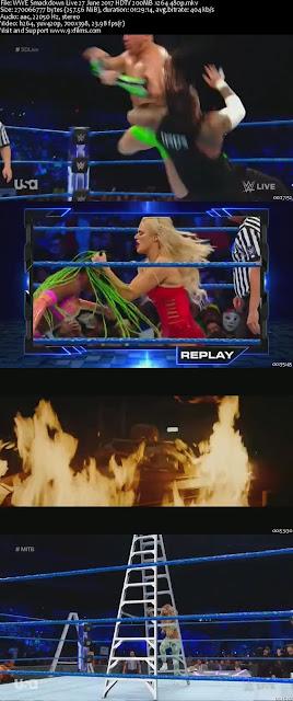 WWE Smackdown Live 27 June 2017 HDTV 480p