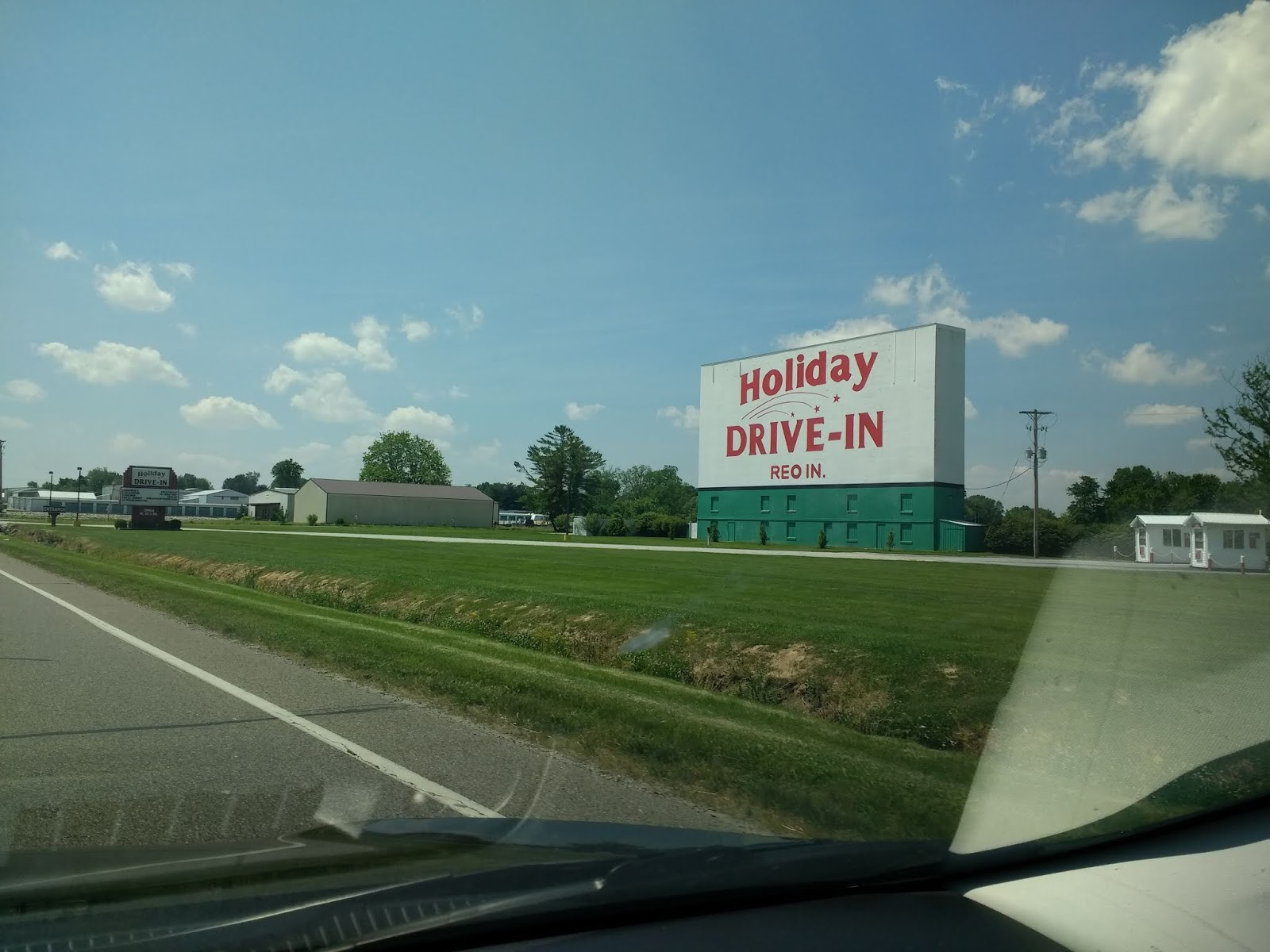 Drive In Reo >> Kentucky Travels Holiday Drive In In Reo Indiana