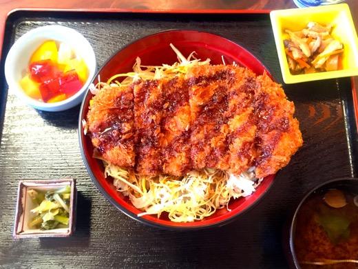 有明荘名物・ソースカツ丼