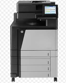 HP LaserJet Enterprise Flow-M880z-Multifunktions-Drucker-Color-Laser-a3 (11,7 in x 16,5 in), Ledger (11 in x 17 in) (Original)-a3/Ledger (Medien)-bis zu 45 ppm (kopieren)
