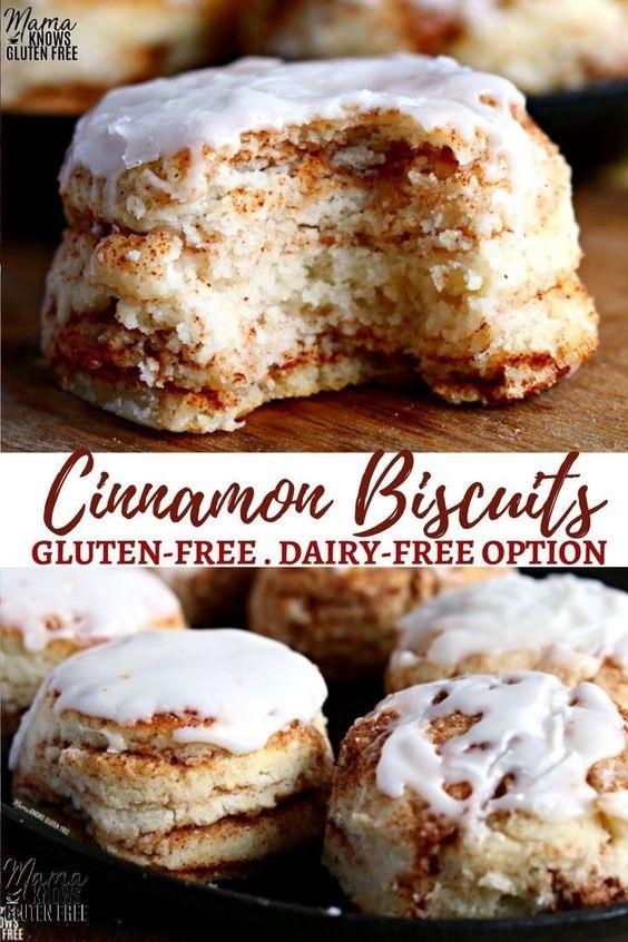 Gluten-Free Cinnamon Biscuits
