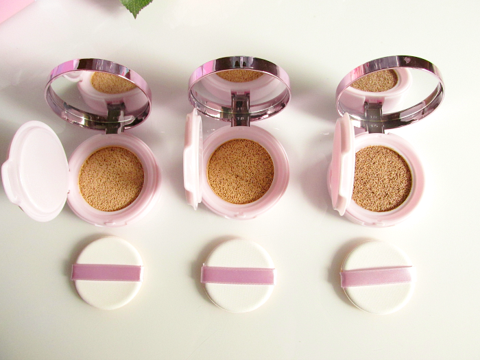 Review & Swatches: L´Oréal - Nude Magique Cushion Foundation Deckkraft