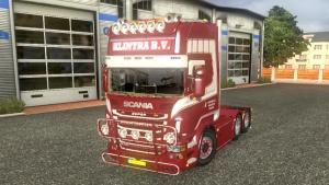 Scania R620 Klintra truck