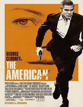 Poster Of Free Download The American 2010 300MB Full Movie Hindi Dubbed 720P Bluray HD HEVC Small Size Pc Movie Only At worldfree4u.com