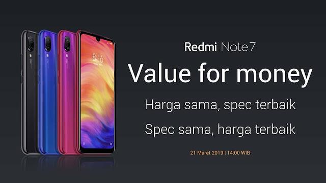 Harga dan Spesifikasi Redmi Note 7 Pro di Indonesia
