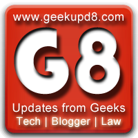 Privacy Policy for Geek Upd8