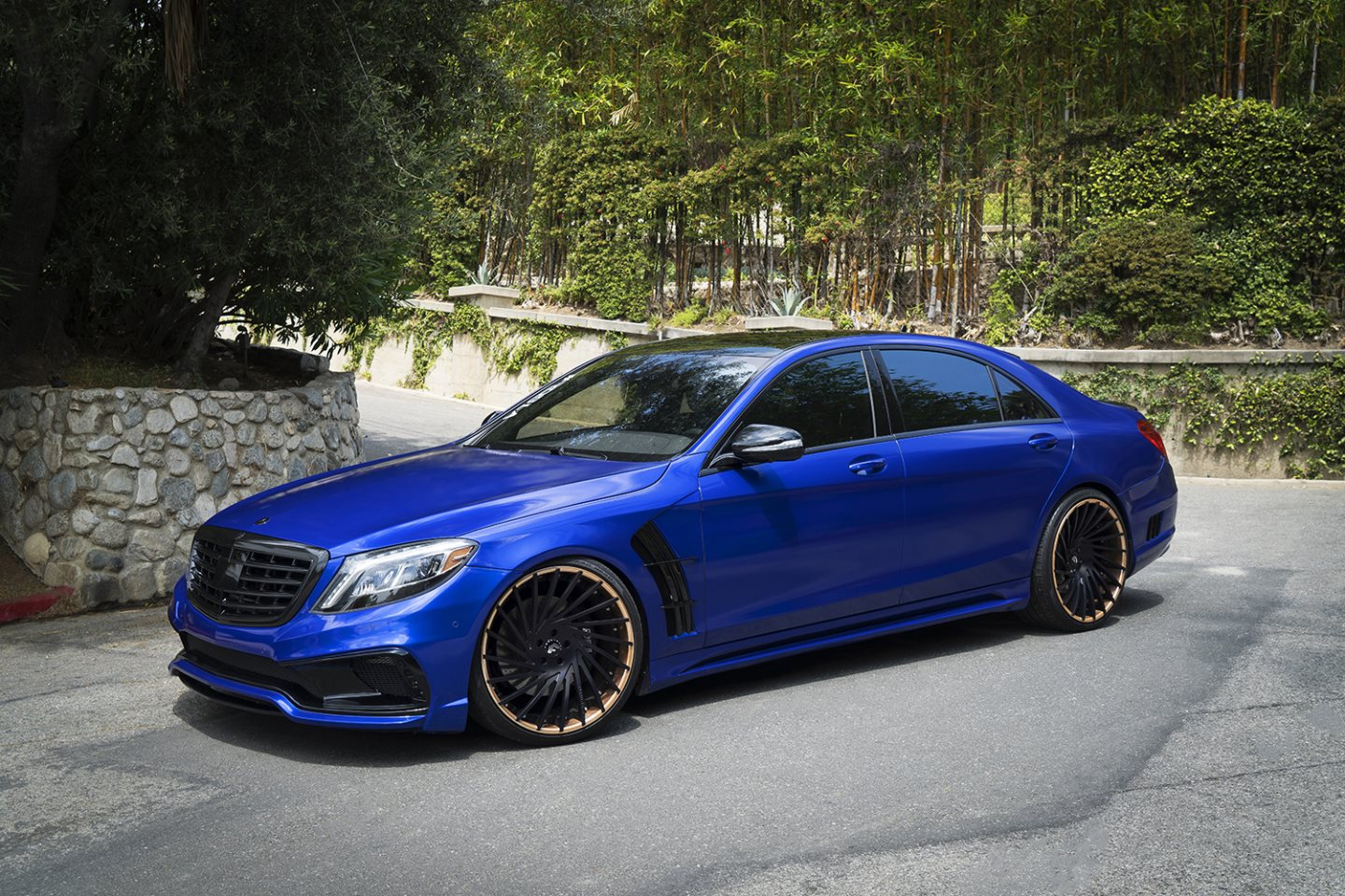 Black bison edition tuning package for the w204 mercedes benz c class - Mercedes Benz W222 On Forgiato Ventoso Wheels Black Bison Body Kit