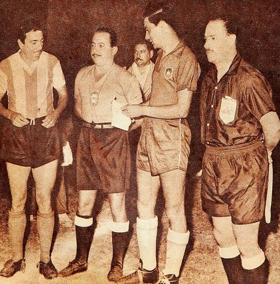 Argentina y Chile en Campeonato Sudamericano de 1956