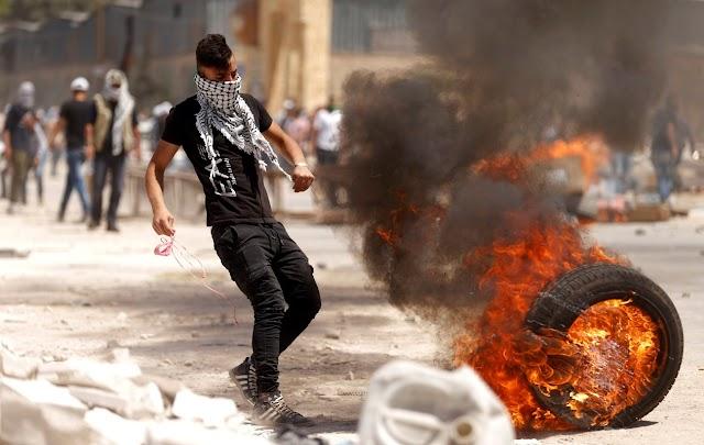 Palestinos e israelenses tem novos confrontos