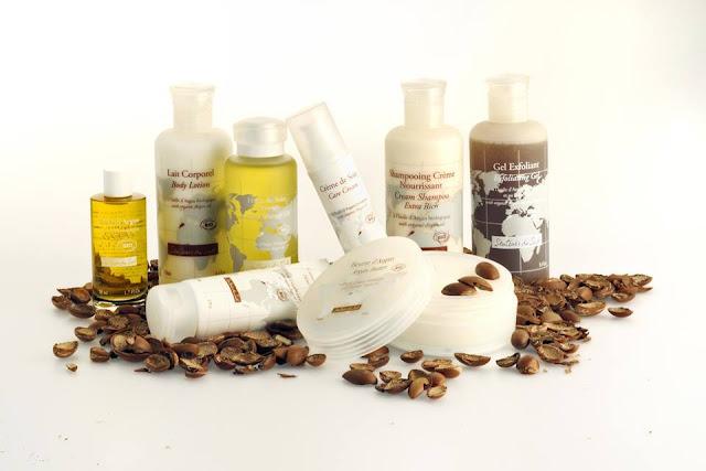 produk organik, minyak argan, produk berasaskan minyak argan, produk kecantikan semulajadi