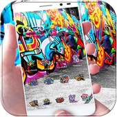 Street Graffiti Theme wall art APK v1.1.3 Latest Version