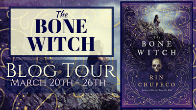 Tour + Review and Giveaway: Bone Witch by Rin Chupeco [REVIEW NEEDS TO BE ADDED]