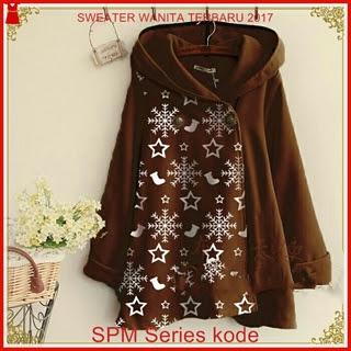 18SPM Sweater Dreams Wanita 18th Cantik Mocca Bj6118