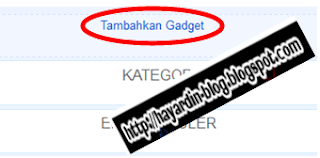 Cara Memasang Gadget Google Plus Follower pada Blog