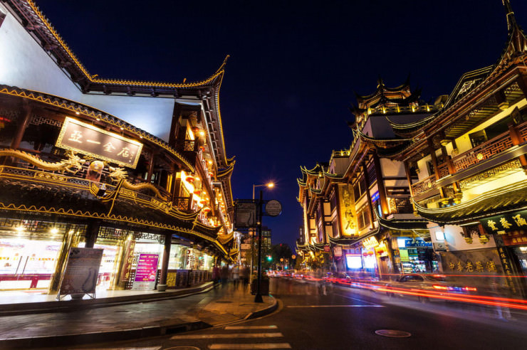 Top 10 Staggering Ancient Towns in China - The Old City of Shanghai