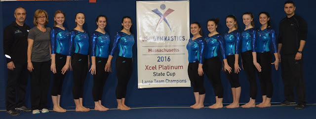 2016 Massachusetts Xcel Platinum State Champions