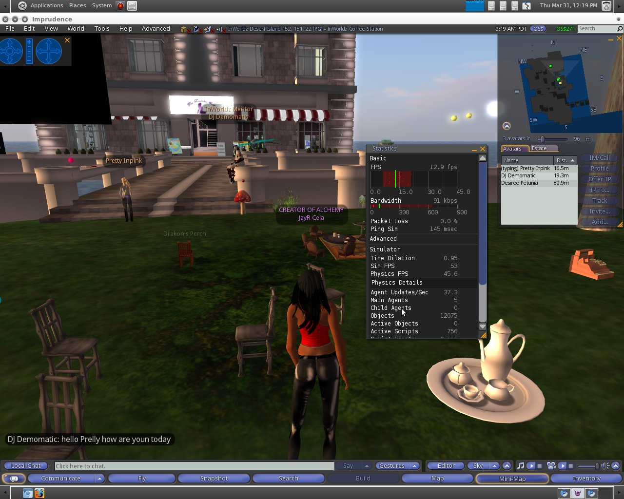 0f5dbd6911f9 The Virtual World Technologist  Virtual World Client~Imprudence ...