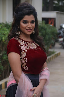Actress Aathmika in lovely Maraoon Choli ¬  Exclusive Celebrities galleries 021.jpg