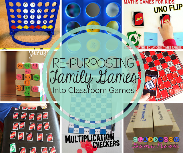 The Classroom Game Nook: Why your most valuable classroom games may