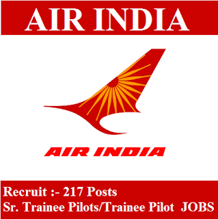 Air India Limited, Air India, Pilot Trainee, Pilot, 12th, Delhi, freejobalert, Sarkari Naukri, Latest Jobs, air india limited logo