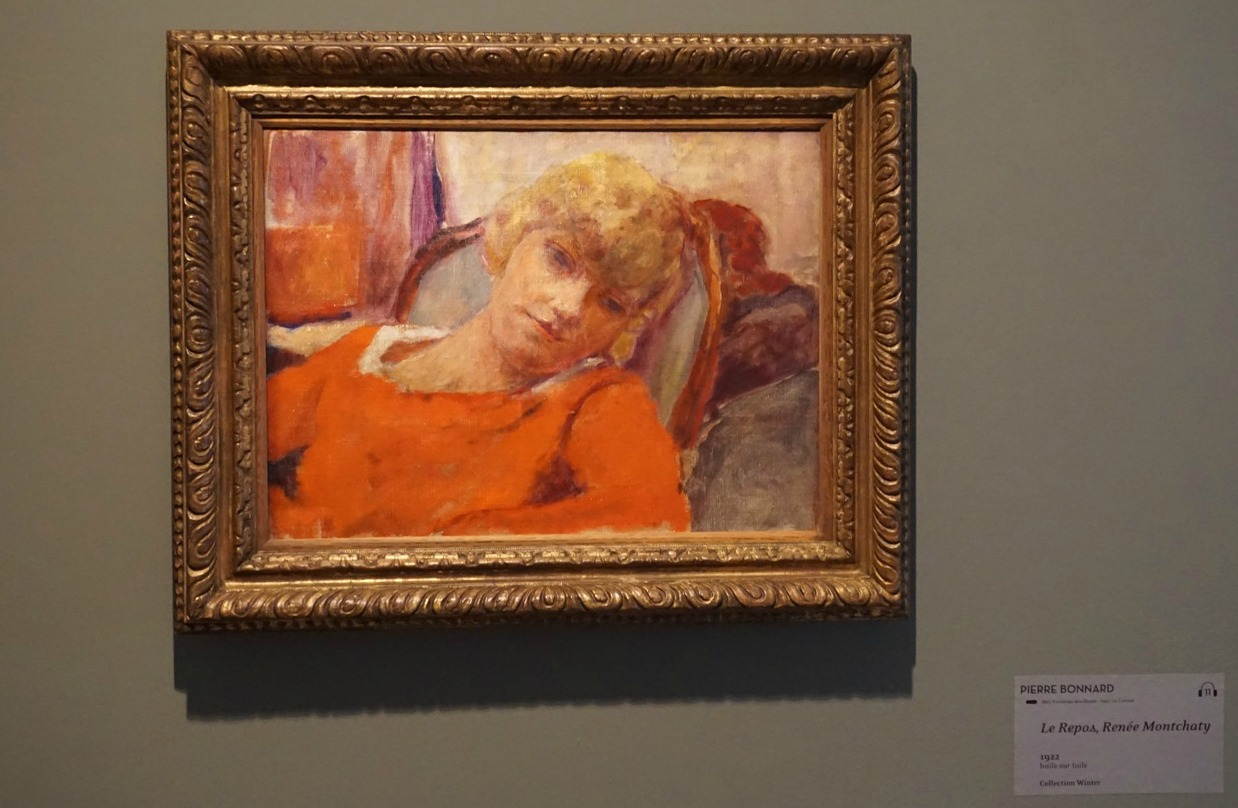 Bonnard's Renée 2018 exhibition Bonnard Museum