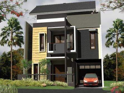 Desain rumah minimalis pic