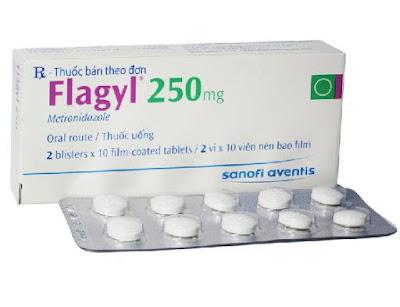 Thuốc kháng sinh Flagyl 250 mg của Sanofi
