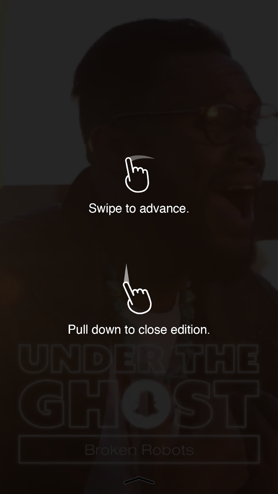 how to use swiple.left snapchat
