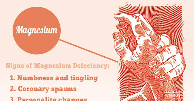 signs you have a magnesium deficiency