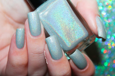"Swatch of the nail polish ""A Little Fishy Told Me"" from Enchanted Polish"