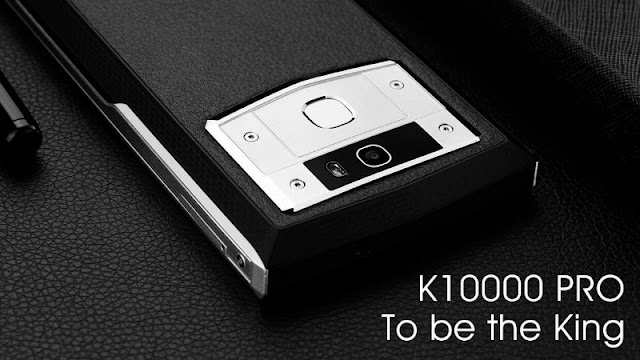 Smartphone in the middle of the day without battery? Oukitel K10000 Pro