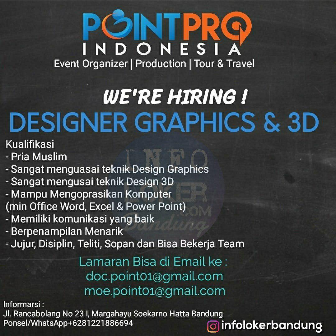 Lowongan Kerja Point Pro Indonesia Bandung Agustus 2018