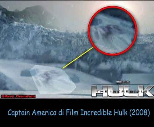 tameng kapten amerika di film incredible hulk (2008)