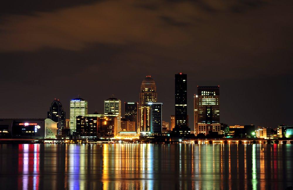 Louisville Ky Kentucky Louisville Skyline